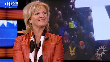 RTL Boulevard Anita Meyer over The Passion, de day after