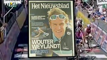 RTL Boulevard Van Inkel zorgt voor ophef na dood Weylandt