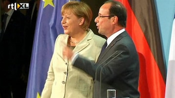 RTL Nieuws Verstandshuwelijk Merkel en Hollande