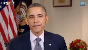 RTL Nieuws Obama: 'Onze harten zijn gebroken'