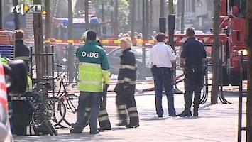 RTL Nieuws 'Puin vloog tijdens explosie alle kanten op'