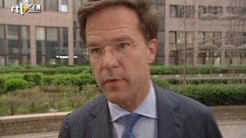RTL Nieuws Rutte heeft zin in Eurotop