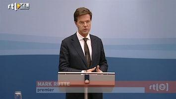 RTL Nieuws Rutte: mismanagement SNS Reaal