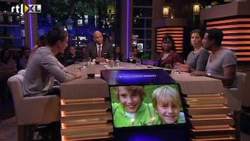RTL Late Night Benefiet voor Ruben en Julian