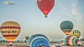 RTL Nieuws Ramp met luchtballon in Egypte