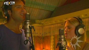 RTL Boulevard Jennifer Ewbank en Nick Keizer zingen samen