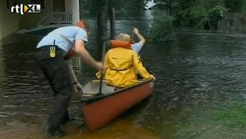 RTL Nieuws Noodtoestand door zware regenval Florida