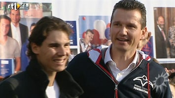 RTL Boulevard Rafael Nadal is bij de 100e playgound van Richard Krajicek