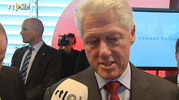 RTL Nieuws Rick Nieman interviewt Bill Clinton (2007)