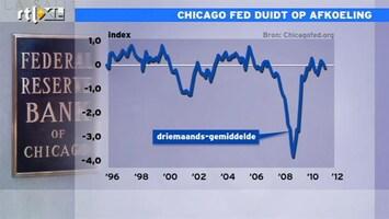 RTL Z Nieuws 15:00 Het gaat zoals het gaat bij de economie van Chicago