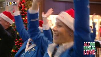 All You Need Is Love Kerstspecial Vrolijke kerst op Schiphol