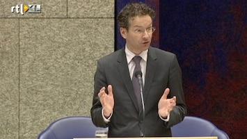 RTL Nieuws Dijsselbloem stelt voorwaarden aan bankenunie