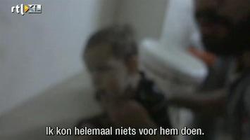 RTL Nieuws Schokkende beelden: ooggetuige over de Syrische gifgasaanval