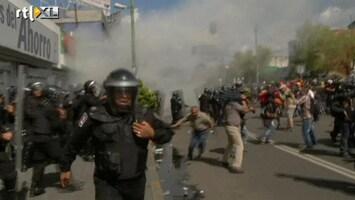 RTL Nieuws Protest in Mexico loopt uit op hevige rellen