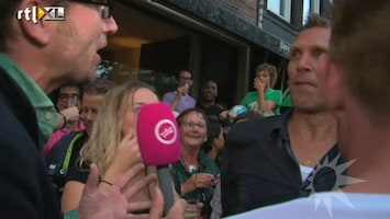 RTL Boulevard Erwin Olaf spuugt naar Geen Stijl verslaggever