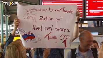 RTL Nieuws Solar Team Twente naar Australië