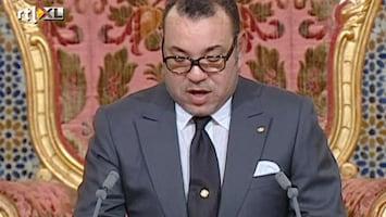 RTL Nieuws Koning Marokko: 'Meer democratie'