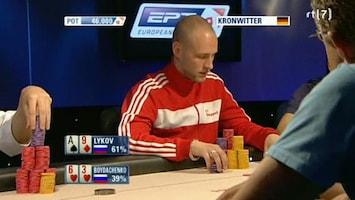 Rtl Poker: European Poker Tour - Uitzending van 30-12-2011