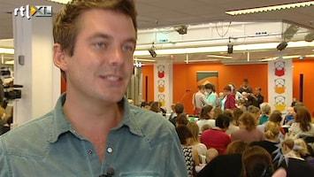 RTL Boulevard Voorleespoging met Ruben Nicolai
