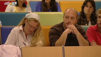 RTL Nieuws 'In de toekomst minder masterstudenten'