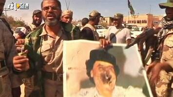 RTL Nieuws Rebellen Sirte vieren feest om dood Khadaffi