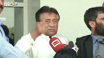 RTL Nieuws Bedreigde oud-president Musharraf teruggekeerd naar Pakistan