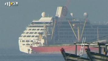 RTL Nieuws Cruiseschip Filipijnen in veilige haven