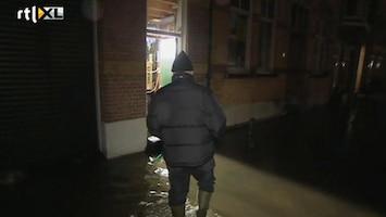 RTL Nieuws Grootste waterdreiging Dordrecht voorbij