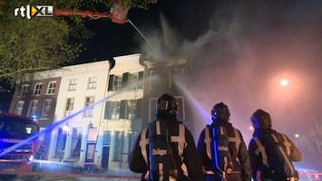 RTL Nieuws Twee keer brand in zelfde gebouw