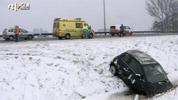 RTL Nieuws Veel overlast door het winterweer