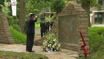 RTL Nieuws Monument voor omgekomen brandweerhelden onthuld