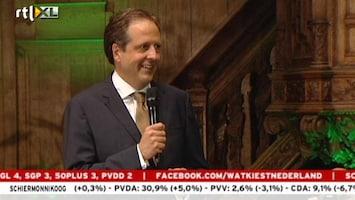 RTL Nieuws Pechtold: Voor de vijfde keer op rij winst voor D66
