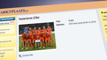 RTL Nieuws Oranje is het lachtertje van Europa