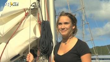 RTL Nieuws Zeilmeisje Laura is wereldnieuws