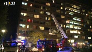 RTL Nieuws Groningse studenten op straat na brand