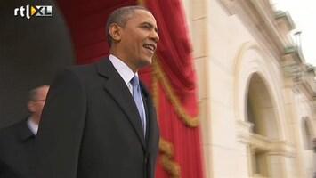 RTL Nieuws Afleggen eed Obama niet helemaal soepel