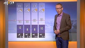 RTL Nieuws 'Temperatuur in het weekend omhoog'