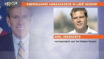 RTL Nieuws 'Aanslag Benghazi is werk van salafisten'