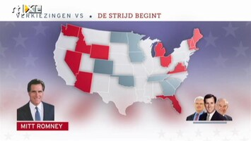 RTL Nieuws Verkiezingen VS: de stijd begint