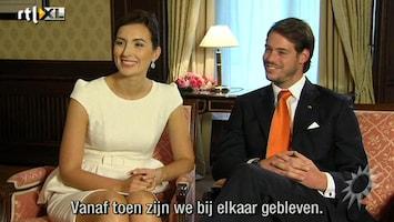 RTL Boulevard Felix en Claire van Luxemburg interview