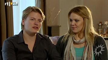 RTL Boulevard Aanstaande ouders Thomas Berge en Myrthe zetten huis te koop