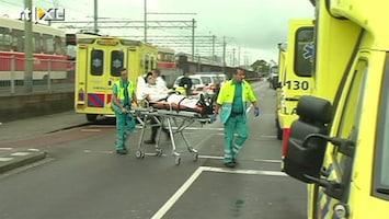 RTL Nieuws Veel gewonden na twee grote verkeersongelukken