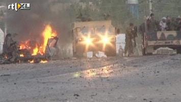 RTL Nieuws Beelden na bomaanslag VS-consulaat Herat