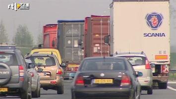 RTL Nieuws Meer fileschade voor transporteurs