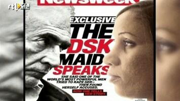 RTL Nieuws Kamermeisje DSK geeft interviews