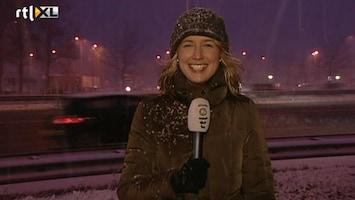 RTL Nieuws 'Geen grote problemen door sneeuw, maar komende uren ander verhaal'
