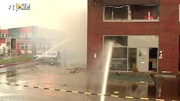 RTL Nieuws Grote brand bij bedrijf in Den Haag