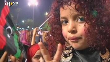 RTL Nieuws Libiërs dolblij na machtsoverdracht aan eerste gekozen congres
