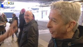 RTL Nieuws Kamerleden vast in koude trein