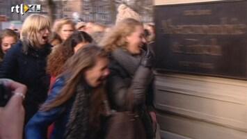 RTL Nieuws Honderden mensen in kou voor opening Abercrombie & Fitch